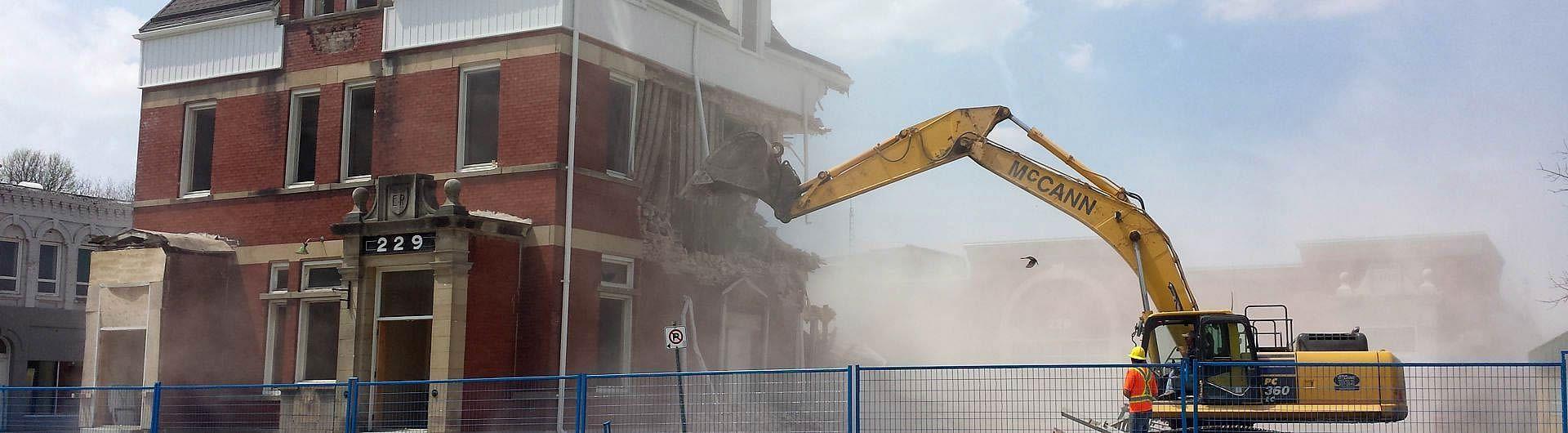 Municipal Building Demolition